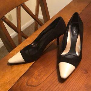 Calvin Klein Black & Cream Pumps Size 6